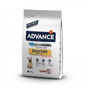 Advance Dog Mini Sensitive Somon & Orez, 7.5 kg