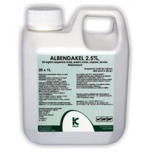 ALBENDAKEL 2.5%, 1 l