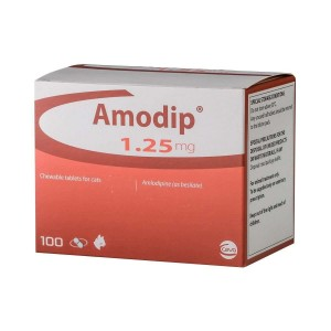 Amodip Cat 1.25MG, 100 Tbl