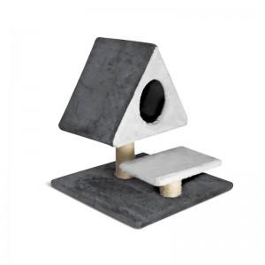 Ansamblu joaca pisici, Piramide, 49x49x52 cm