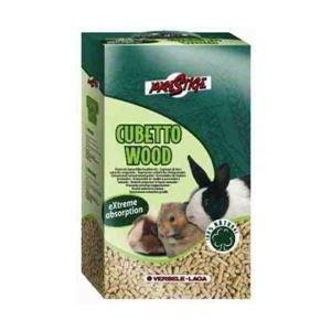 Asternut pentru rozatoare, Cubetto wood, 7 kg