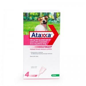 Ataxxa Dog 100 (4 - 10 kg), 4 pipete
