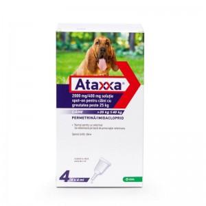 Ataxxa Dog 400 (25 - 40 kg), 4 pipete