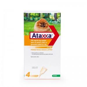 Ataxxa Dog 40 (4 kg), 4 pipete