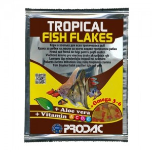 Hrana pentru pesti, Prodac Tropical Fish Flakes, 12 g