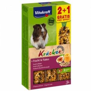 Baton G Pig Vitakraft Fructe/ Cereale, 112 g + 56 g