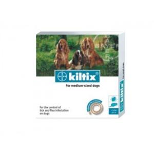 Kiltix M Zgarda Antiparazitara Caini  - pentru caini de talie medie