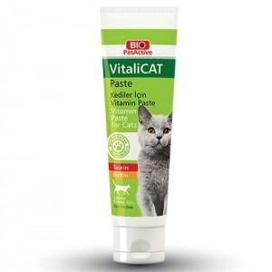 Pasta cu vitamine pentru pisici, Bio PetActive Vitali Cat Paste, 100 ml