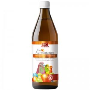 Vitamine pasari ornamentale si porumbei, Bio PetActive Bio AviVitaminosol, 500 ml