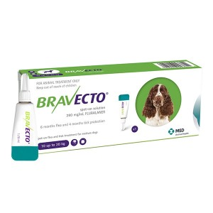 Bravecto spot on (10-42 kg) 1 pipeta