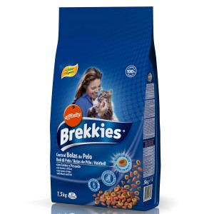 Brekkies Excel Cat Hairball 1.5 kg