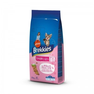 Brekkies Cat Excel Junior cu Pui, 20 kg