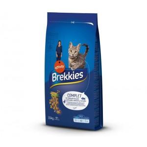 Brekkies Excel Cat Complet, 15 kg