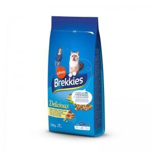 Brekkies Excel Cat Delice Peste, 20 kg