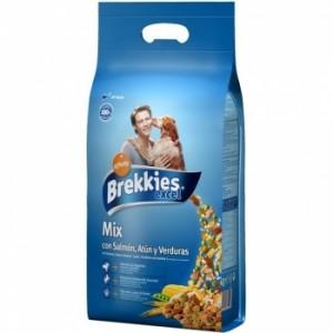 Brekkies Dog Excel Mix Peste 4 kg