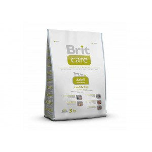 Brit Care Adult Small Breed Lamb & Rice, 3 kg