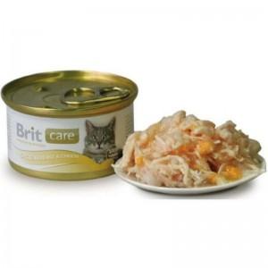 Brit Care Cat chicken breast & cheese, conserva, 80 g
