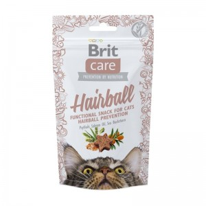 Brit Care Cat Snack Hairball, 50 g