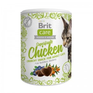 Brit Care Cat Snack Superfruits Chicken, 100 g