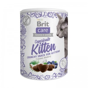 Brit Care Cat Snack Superfruits Kitten, 100 g
