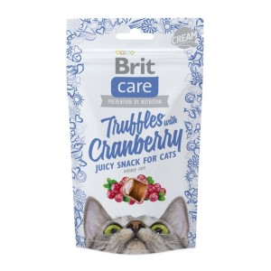 Brit Care Cat Snack Truffles Cranberry, 50 g