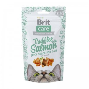 Brit Care Cat Snack Truffles Salmon, 50 g