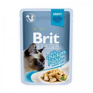 Brit Cat Delicate Chicken in Gravy, 85 g
