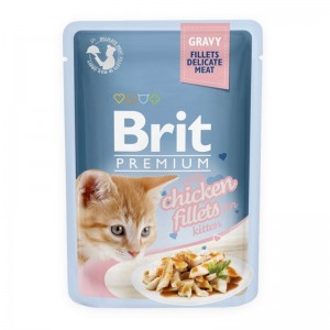 Brit Cat Delicate Chicken in Gravy for Kitten, 85