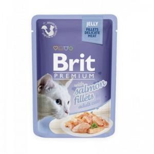 Brit Cat Delicate Salmon in Jelly, 85