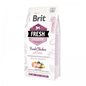 Brit Fresh Chicken and Potato Puppy Healthy Growth, 2.5 kg