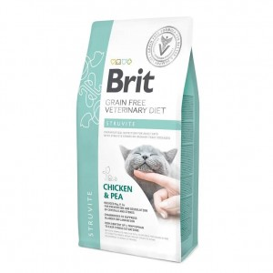 Brit Grain Free Veterinary Diets Cat Struvite, 400 g