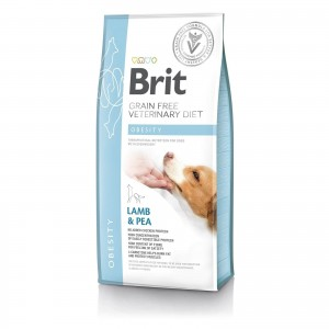 Brit Grain Free Veterinary Diets Dog Obesity, 2 kg