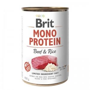 Brit Mono Protein Beef & Brown Rice, 400 g