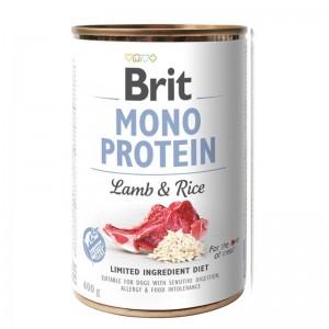 Brit Mono Protein Lamb & Brown Rice, 400 g