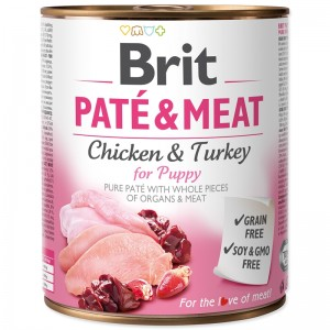 Brit Pate and Meat Puppy, 800 g
