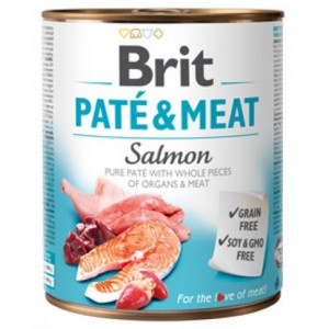 Brit Pate and Meat Salmon, 800 g
