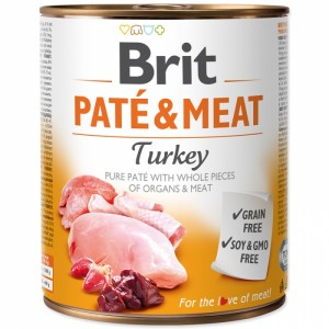 Brit Pate and Meat Turkey, 800 g