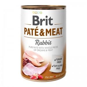 Brit Pate & Meat Rabbit, 400 g