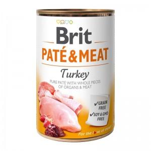 Brit Pate & Meat Turkey, 400 g