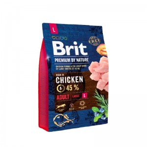 Brit Premium by Nature Adult Large, 3 kg