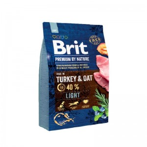 Brit Premium by Nature Adult Light, 3 kg