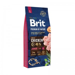 Brit Premium by Nature Junior Large, 15 Kg