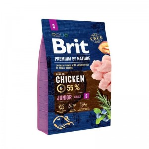 Brit Premium by Nature Junior Small, 8 kg