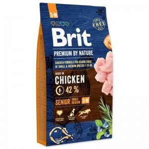 Brit Premium by Nature Senior S plus M, 15 kg