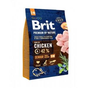 Brit Premium by Nature Senior S plus M, 3 kg