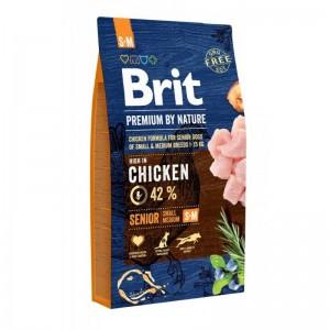 Brit Premium by Nature Senior S plus M, 8 kg