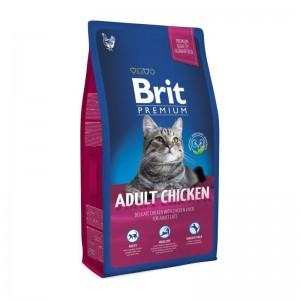 Brit Premium Cat Adult Chicken, 8 kg