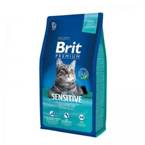 Brit Premium Cat Adult Sensitive, 8 kg