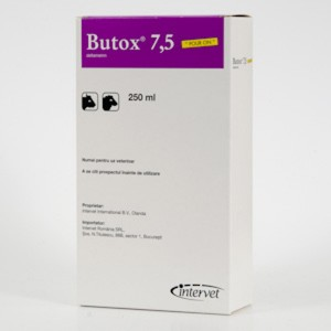 Butox 7.5% flc.x 250ml POUR ON