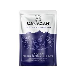 Canagan Senior Sterilised, Pui, 85 g